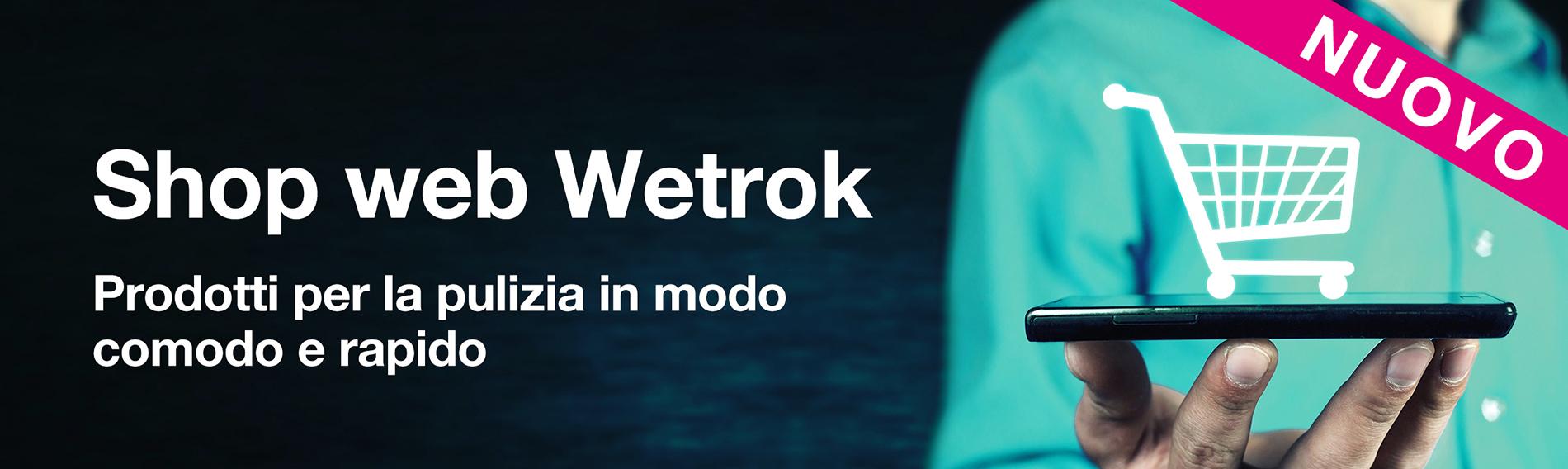 Nuovo webshop Wetrok