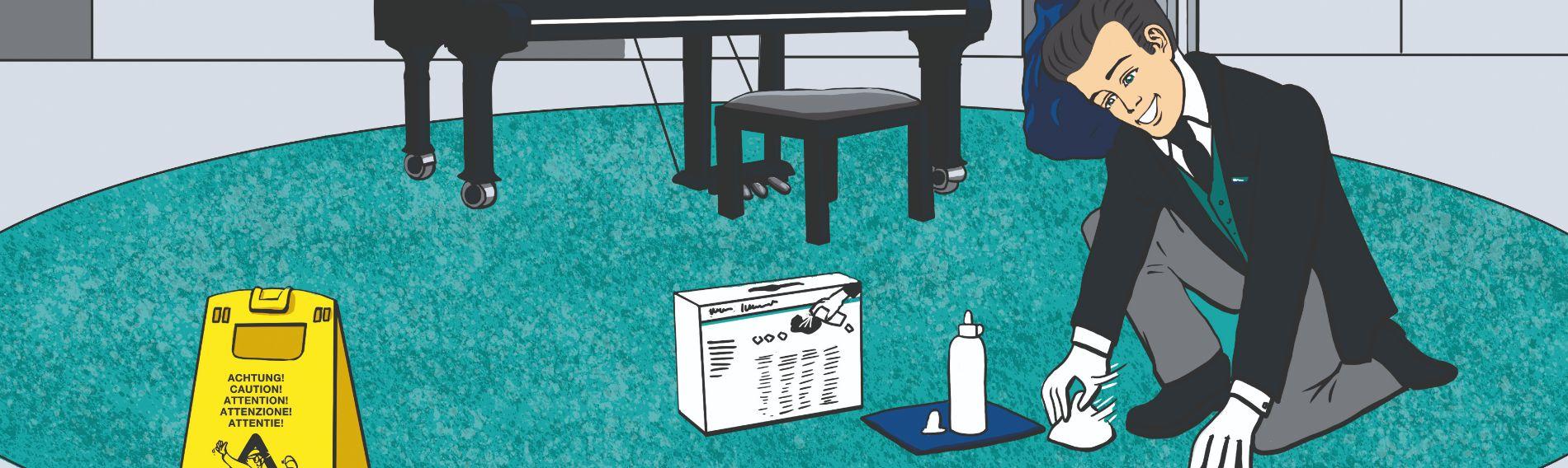 Wetrok Reinigungs-Methoden